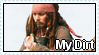 Jack Sparrow Stamp by RogueLottie