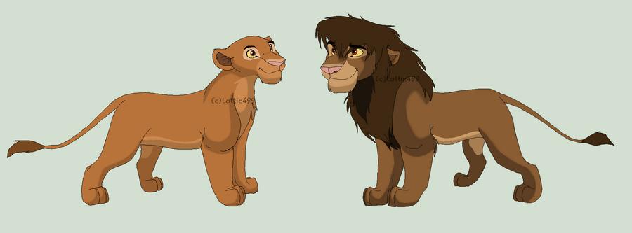 personaje afua - Página 3 Kula_and_chumvi_by_lottie499-d3gp3rs