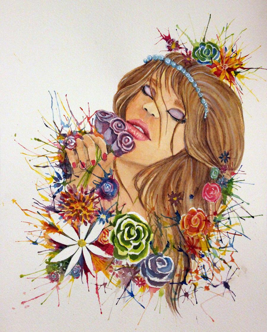 Roses by rainboww-horror