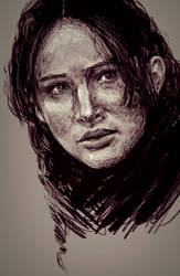 Katniss 2 by Alex-Plalex