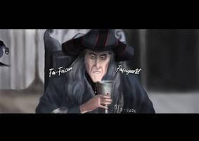 Fronethor (Frollo as Denethor, Boromir's father)