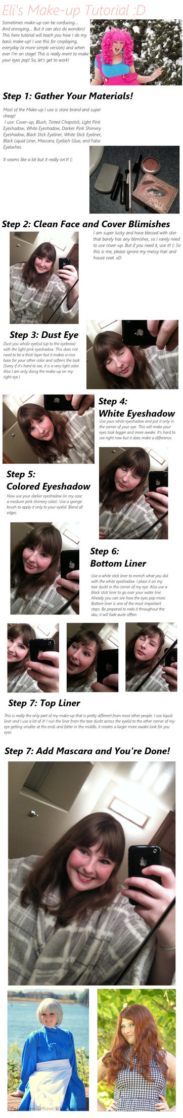Cosplay Make-up Tutorial by Eli-Cosplay