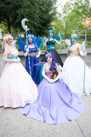 MLP:Fim - Princesses by Eli-Cosplay