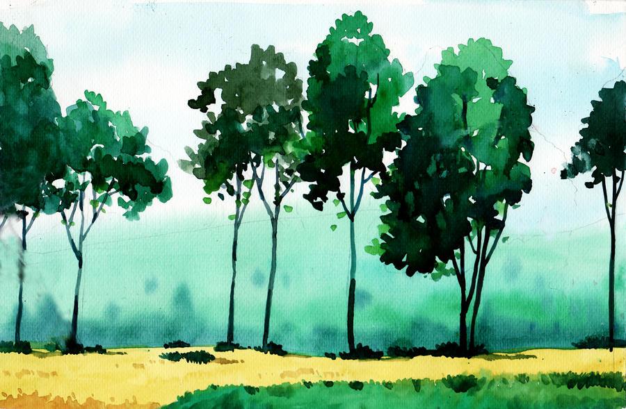 Watercolor 5 By Explosive13