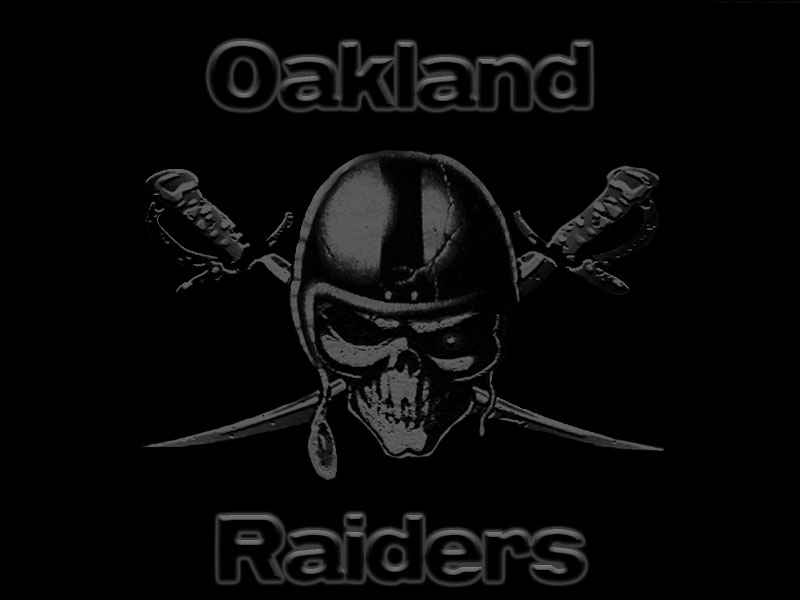 Oakland Raiders Wallpaper by EienKurosaki on DeviantArt