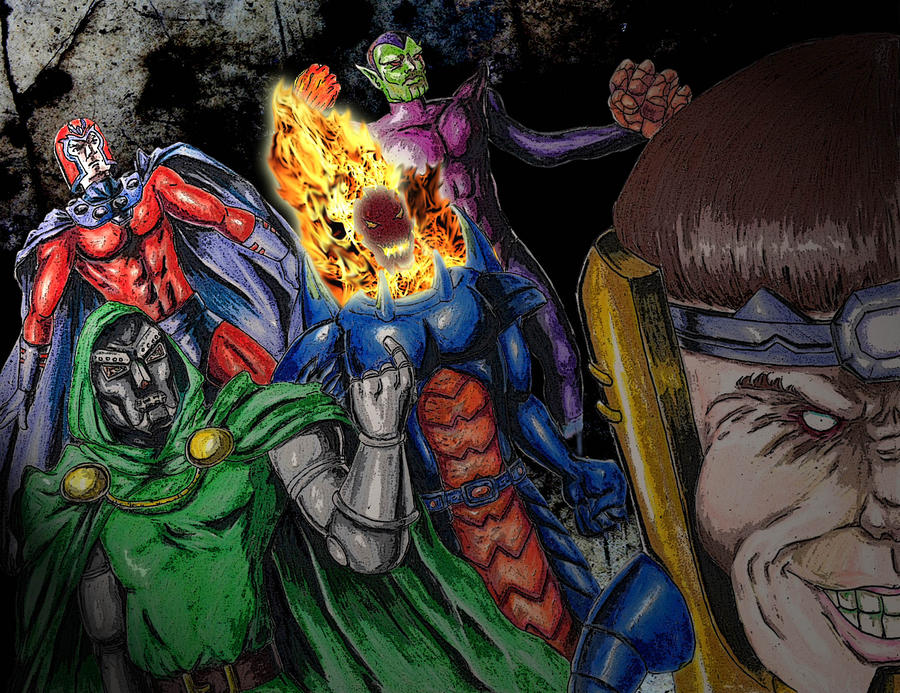 Ultron galactus and green goblin vs marvel heroes and villains