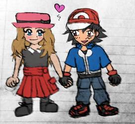 AmourShipping Chibis Doodle
