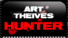 art theive hunter stamp by Alone666