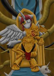 Goddess Empress of Ponykind by DarkHestur