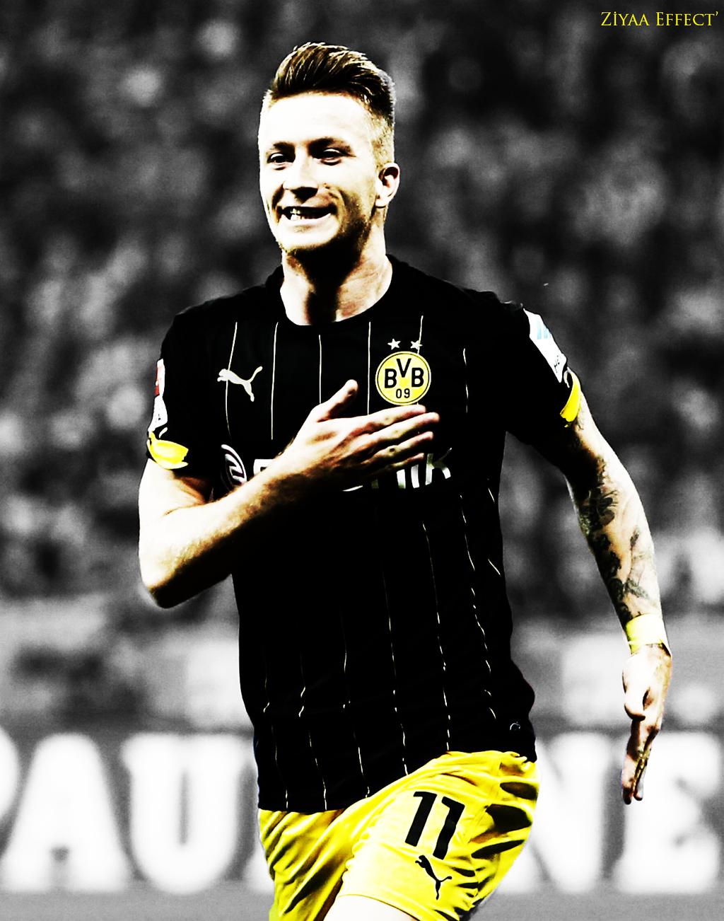 Marco Reus Borussia Dortmund by ZiyaaEffect on DeviantArt