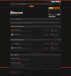 The Beacon Dark vBulletin Skin