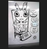 Bunny Blender by nvanvlymen
