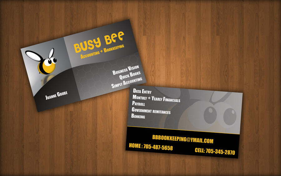 bee business card by 0scubasteve on DeviantArt