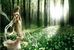 Shaiya. Goddes of light.