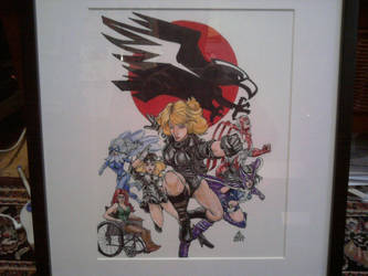 Birds of Prey no. 8 cover rip by abart01