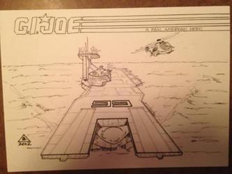 U.S.S. Flagg, G.I. Joe: Resolute version by abart01