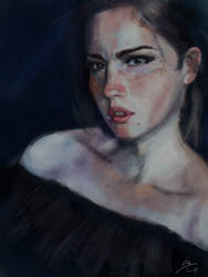Portrait study by AxelTailor