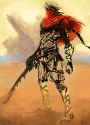 Desert wind by AxelTailor