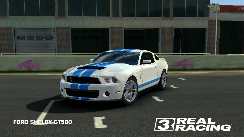 Mustang Shelby gt 500 (need for speed the movie) by