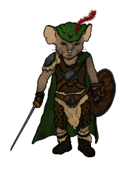 Qwynn, Mouseling Bard