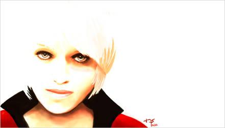 Digital painting: Portrait by sodeikat