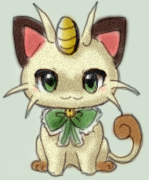 AccioAltias's Meowth by PokeDoodleAdoptables