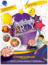 Kids Party Flyer - 21