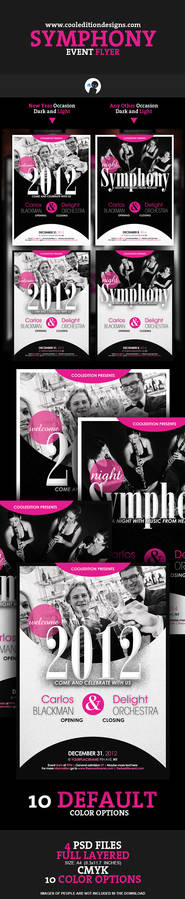 Symphony Event Flyer Template