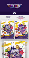 Best Kids Party Flyer Template