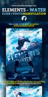 Elements - Water Flyer / Photomanipulation