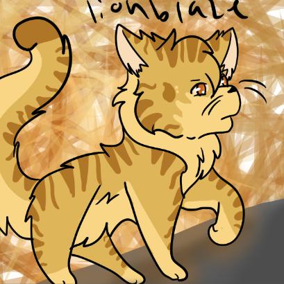 Lionblaze For Map by Fancygirl157