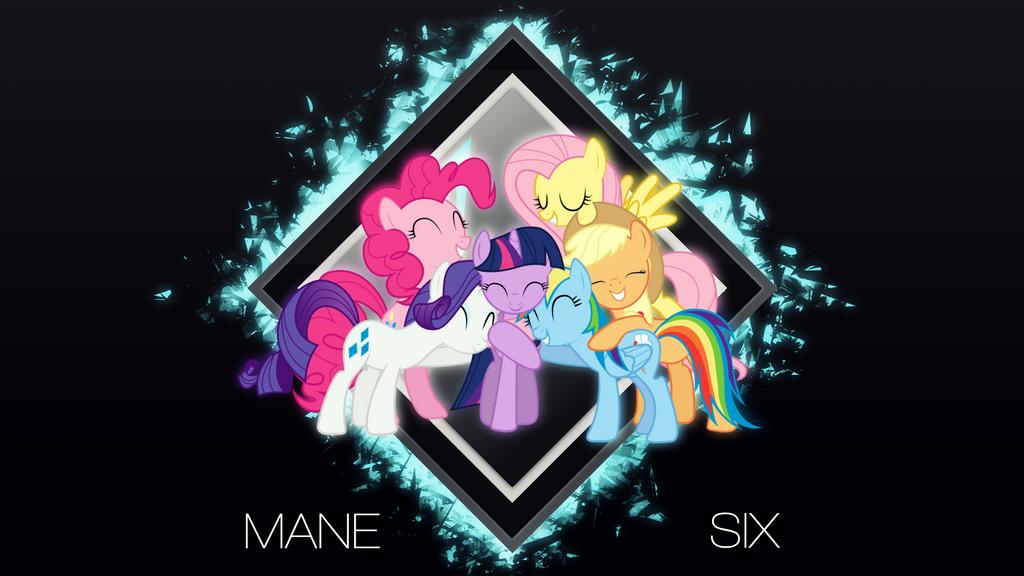 Mane 6 by DividedDemensions