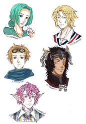 AB: Headshot Batch 1 by Chronolex