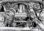 Toyota Supra MK IV Engine