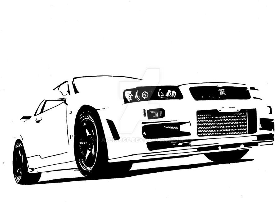 Nissan OEM R35 GT R VR38DETT Lower Oil Pan in addition Hicas And R32 Nissan Skyline Gt R in addition Fast And Furious Coloring Pages together with 635 likewise White Nissan Skyline GT R R34 Nismo 289585820. on nissan gt r