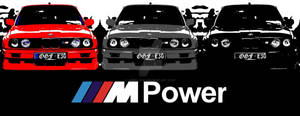 BMW M3 E30 Pop Art (Horizontal)
