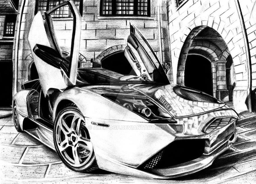 Lamborghini Murcielago by Arek-OGF