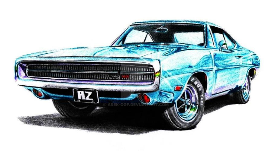 Dodge Charger by Arek-OGF