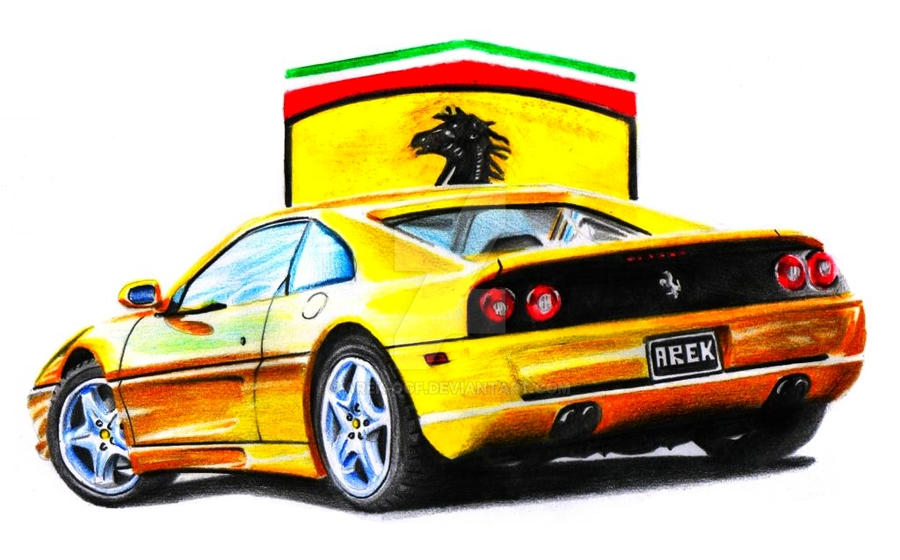 Ferrari 355 F1 Berlinetta by Arek-OGF