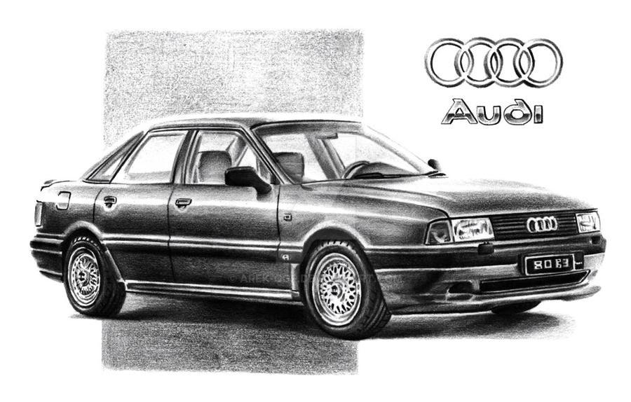 Audi 80 B3 by Arek-OGF