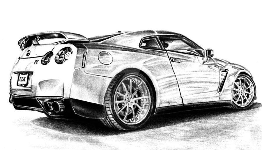 Nissan GT-R by Arek-OGF