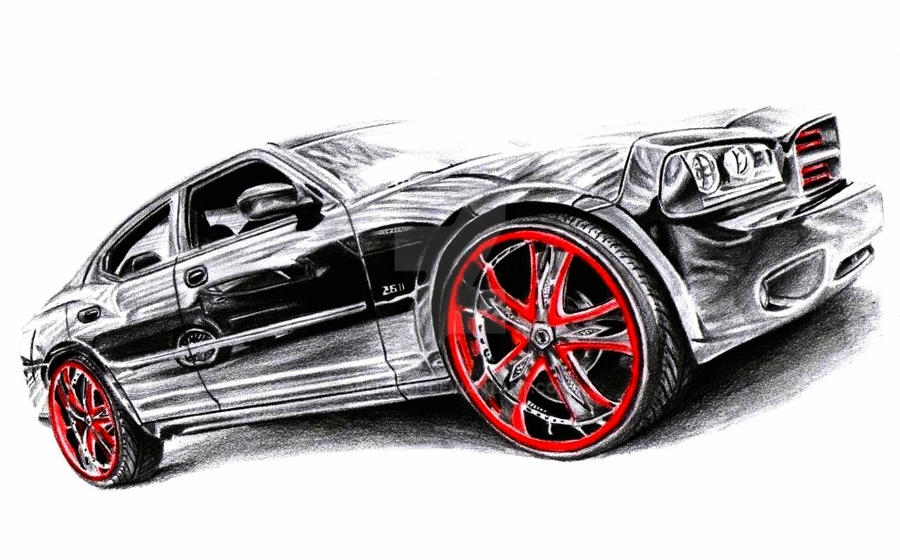 Dodge Charger Dub Edition By Arek Ogf On Deviantart