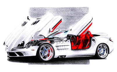 Mercedes Benz Brabus SLR McLaren Roadster