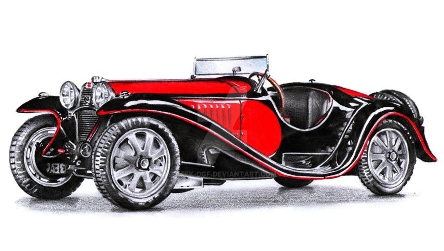 Bugatti Type 55 by Arek-OGF