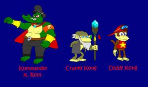 SMA: DK Island Saga Minor Cast