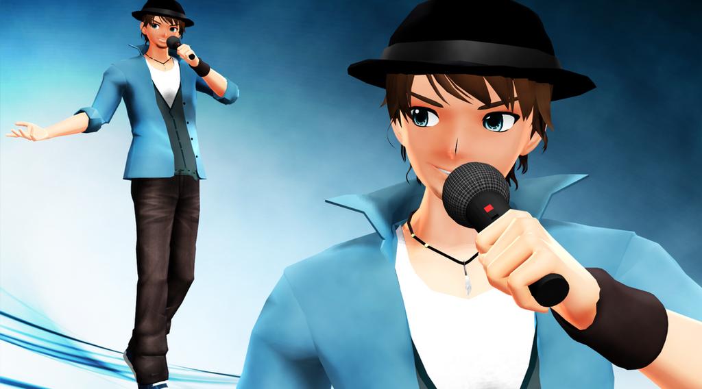 [MMD] New Bruno [Model DL] By ToshinouToto On DeviantArt