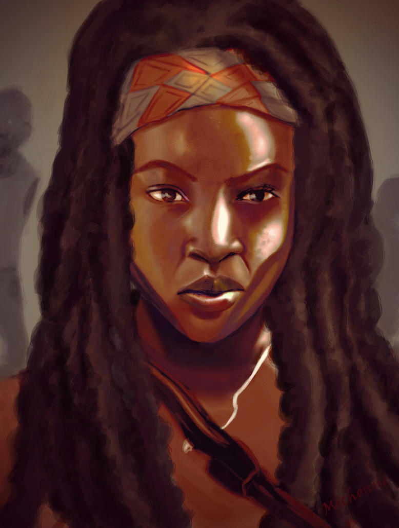 Michonne by SBCheeseCake