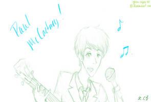 Paul McCartney-ness by green-hippie44