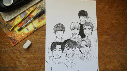 First Draw: BTS Come Out