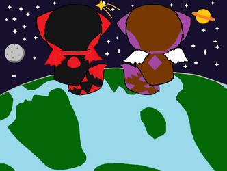 Space: Alice and Enjeru by elphierocks953